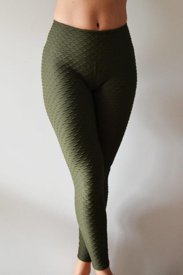 Legging Escama Verde Tropa